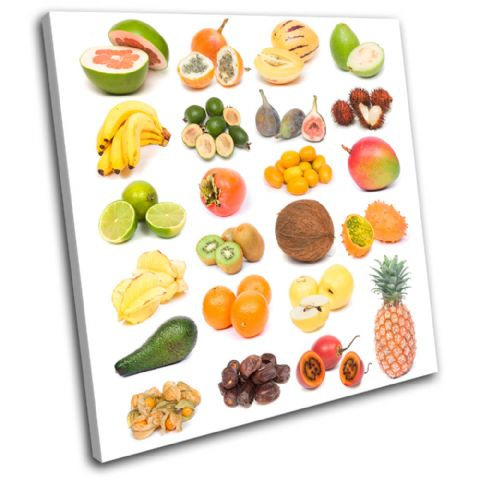 Fruits Collage Food Kitchen - 13-1972(00B)-SG11-LO